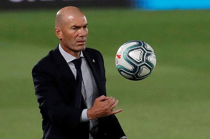 Zidane là HLV tài ba