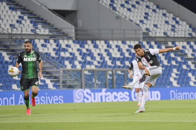 Ronaldo đã có trận đấu tệ trước Sassuolo