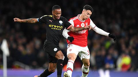 Arsenal đại chiến Man City: Bùng nổ vì suất đi châu Âu