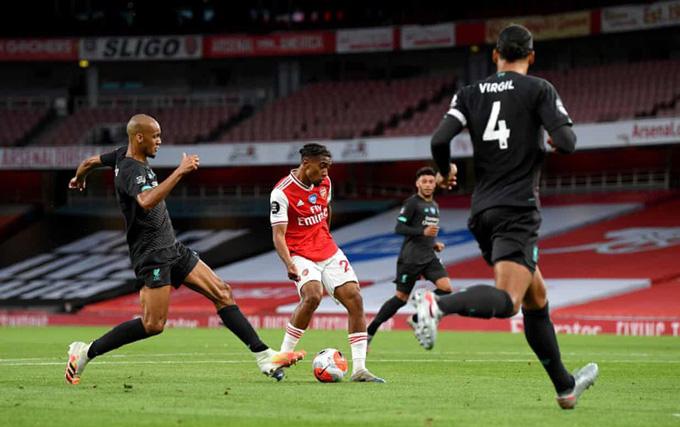 Nelson thành cầu thủ U20 thứ 5 của Arsenal ghi bàn tại Premier League mùa này