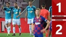 Barcelona 1-2 Osasuna (Vòng 37 La Liga 2019/20)