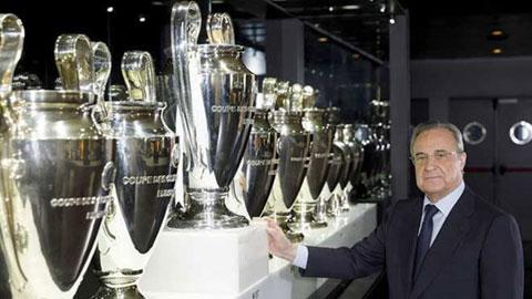 Perez 'bố già' đứng sau thành công của Real