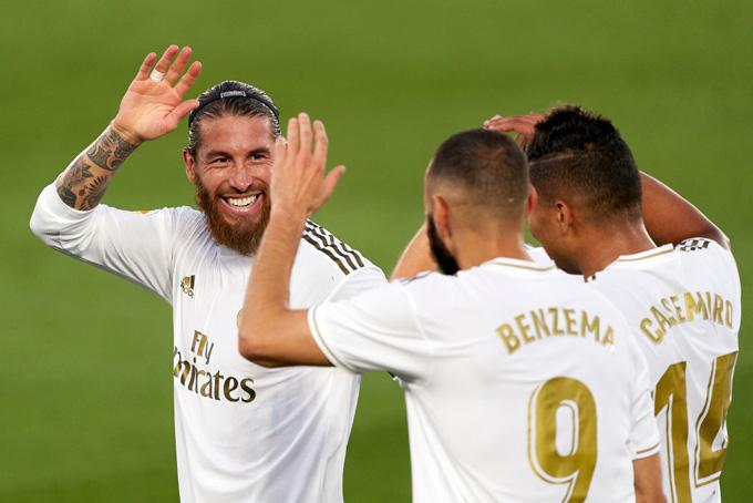 Benzema mở tỷ số trận đấu