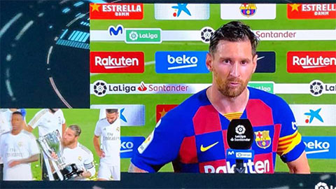 Messi nổi cơn tam bành khi Real vô địch La Liga