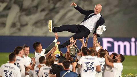 """Zidane: """"Vô địch La Liga ngọt ngào hơn vô địch Champions League"""""""