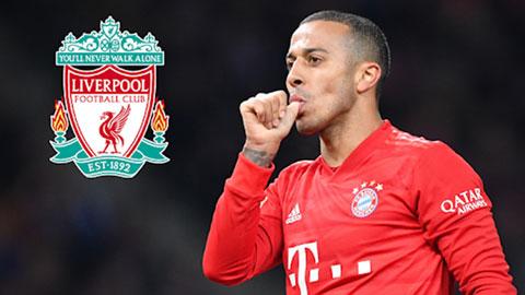 Liverpool đạt thỏa thuận cá nhân với Thiago Alcantara