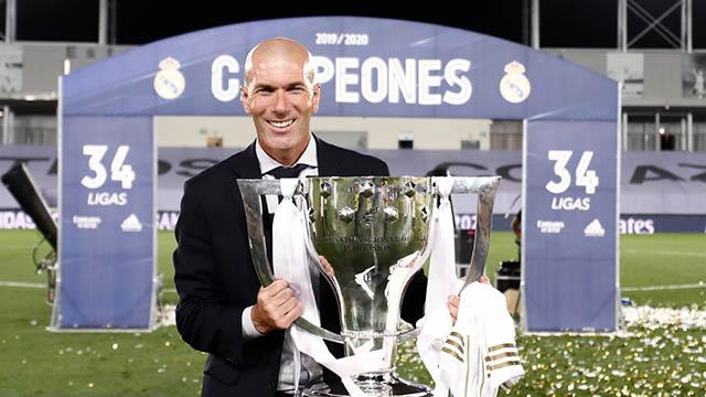 Đọ danh hiệu: Zidane đứng đâu so với Mourinho, Klopp, Guardiola?