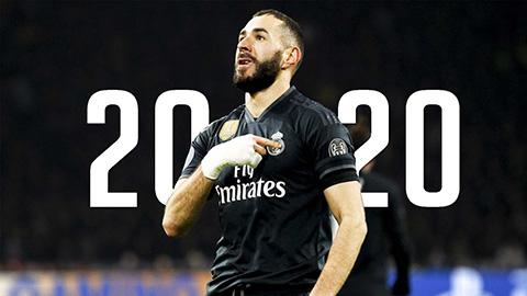 Benzema là số 1, là duy nhất