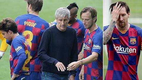 Barca nên sa thải Setien để cứu vãn mặt trận Champions League