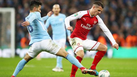 Arsenal hy vọng vào khác biệt từ Xhaka