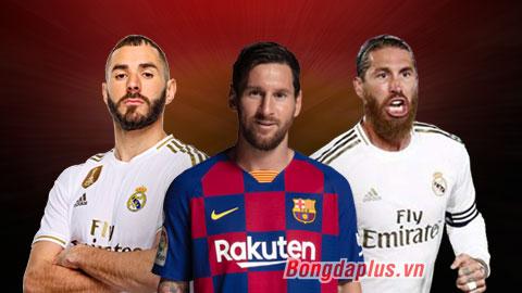Đội hình xuất sắc nhất La Liga 2019/20: Vinh danh Ramos, Courtois, Messi và Benzema