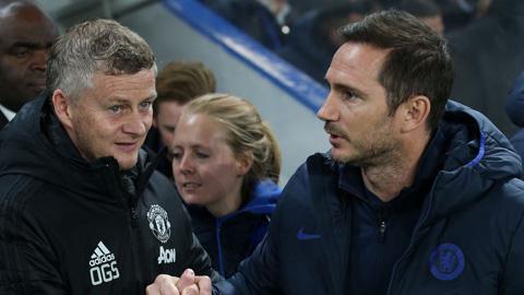 HLV Solskjaer đáp trả đanh thép người đồng nghiệp Lampard