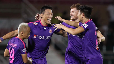 Sài Gòn FC lập kỷ lục về ghi bàn thần tốc trong lịch sử V.League