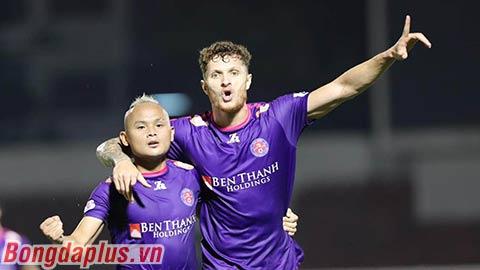 Sài Gòn FC trở thành đội đầu tiên trụ hạng V.League 2020