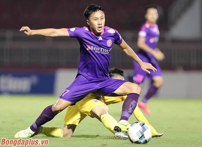 Sài Gòn FC sau đó nhường thế trận cho DNH Nam Định