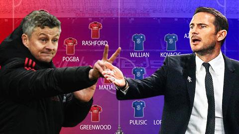 M.U và Chelsea sẽ ra sân với đội hình nào khi đối đầu ở bán kết FA Cup?