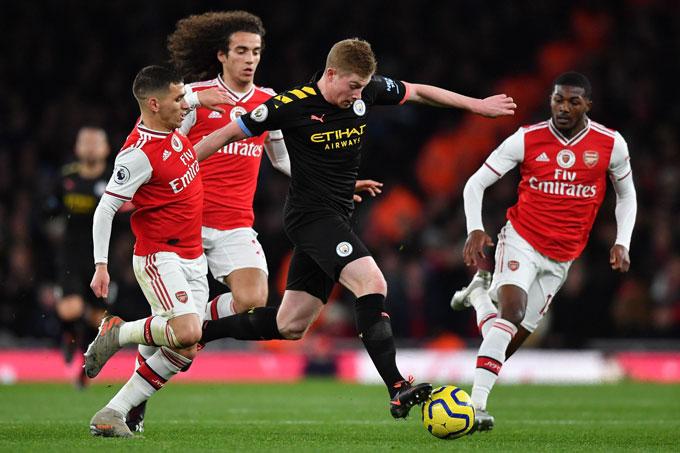 5 điều Co Thể Xảy Ra ở Trận đại Chiến Arsenal Vs Man City Bongdaplus Vn
