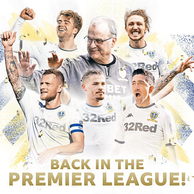 Sau 16 năm vắng bóng, Leeds đã lại có thể hít thở bầu không khí Premier League