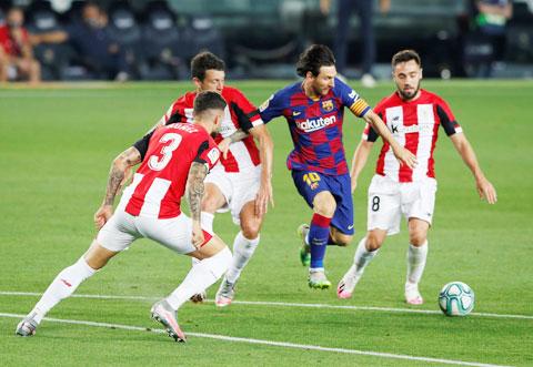 Messi vẫn còn mục tiêu giành danh hiệu Vua phá lưới mùa này