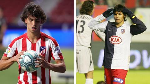 Joao Felix có mùa giải đầu tiên tại Atletico tốt hơn Aguero
