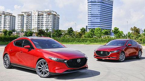 Mazda 3 2020 đẹp mê ly, giảm giá cực mạnh tại VN, quyết đấu Honda Civic, Kia Cerato