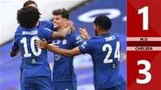 M.U 1-3 Chelsea (Bán kết FA Cup 2019/20)
