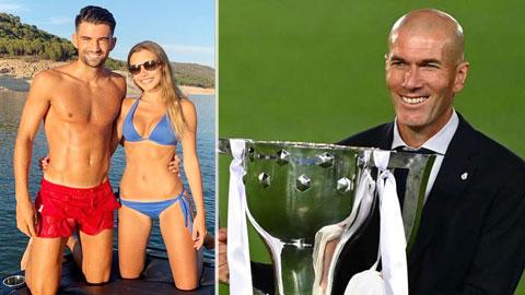 Sau chức vô địch cùng Real, Zidane lại đón thêm tin vui