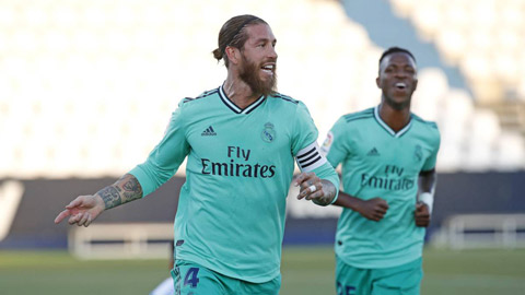 Ramos đi vào lịch sử La Liga trong trận thứ 650 cho Real