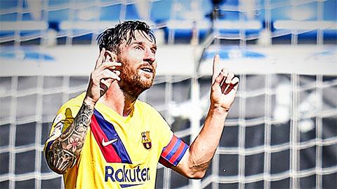 Mùa giải 2019/20 của Messi: Giận thì giận...
