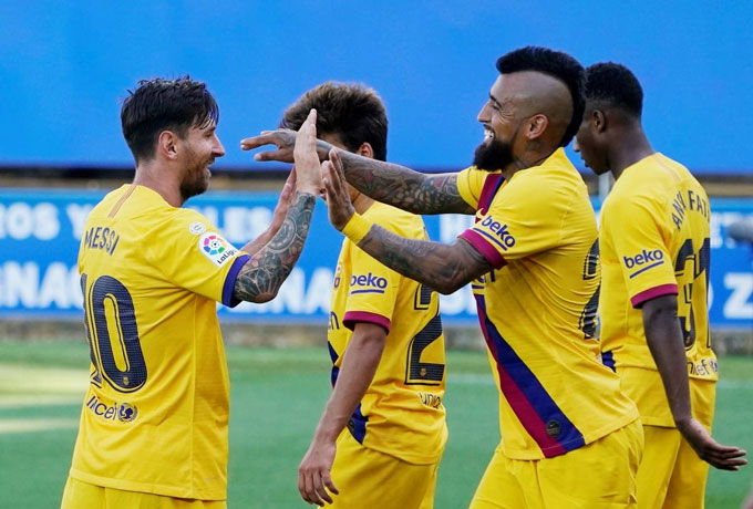 """Barca đã có chiến thắng """"rửa mặt"""" trước Alaves"""