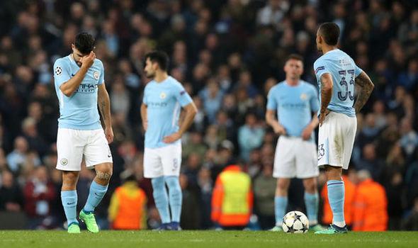 Tinh thần thi đấu của Man City trong những trận đấu lớn ở mùa này là không tốt