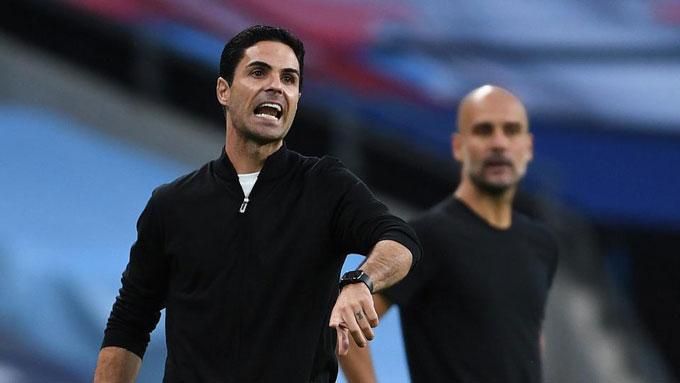 """Arteta vừa đánh bại """"ông thầy"""" Guardiola để vào chung kết FA Cup"""