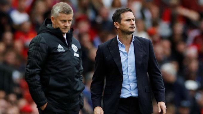 Lampard cũng đã khuất phục được Solskjaer sau 3 lần thất bại trước đó
