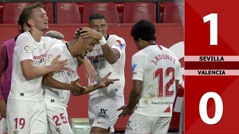 Sevilla 1-0 Valencia (Vòng 38 La Liga 2019/20)