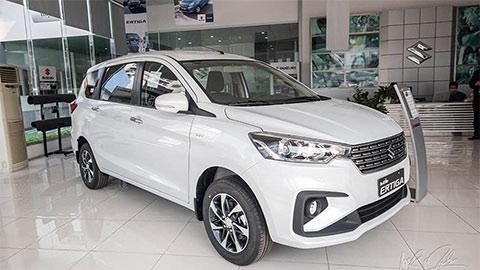 Suzuki Ertiga 7 chỗ bất ngờ giảm giá sốc xuống còn 459 triệu, 'quyết đấu' Mitsubishi Xpander