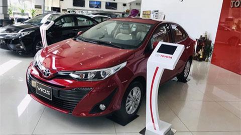 Toyota Vios giá 'ngon' đè bẹp Hyundai Accent, Honda City trong nửa đầu năm 2020