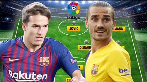 Felix, Griezmann, Jovic bị bêu tên trong đội hình tệ nhất La Liga 2019/20