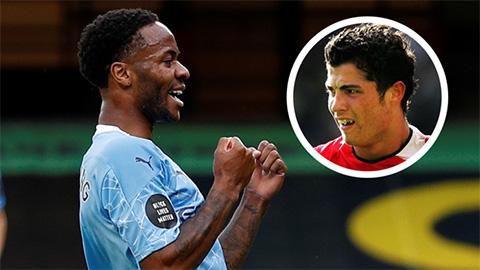 Sterling vượt qua Ronaldo nhờ cú đúp vào lưới Watford