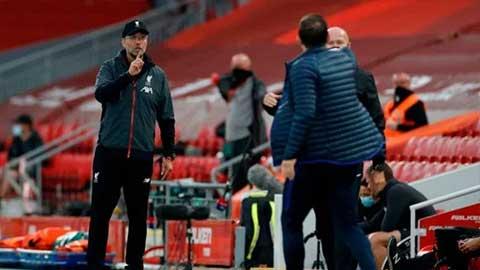 HLV Klopp nói gì về màn xung đột với Lampard?