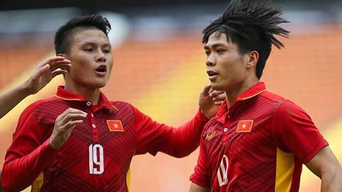 Quang Hải nội chiến với Công Phượng ở giải Cầu thủ được yêu thích nhất châu Á