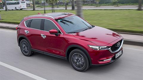 Mazda CX-5 đẹp long lanh giảm giá 'cực mạnh' tại VN, quyết đấu Hyundai Tucson, Honda CR-V