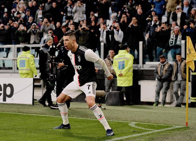 Serie A không thể làm khó được Ronaldo
