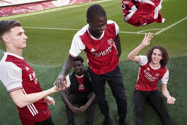 Tierney, Saka, Pepe và Guendouzi