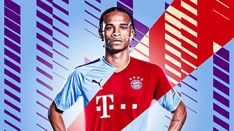 """Leroy Sane: """"Tôi đến Bayern không phải vì mâu thuẫn với Pep"""""""