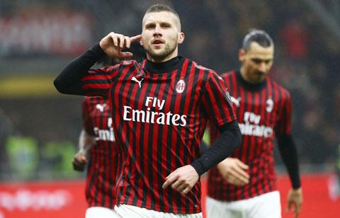 Milan đang muốn chiêu mộ Keita Balde, đồng thời mua đứt Rebic