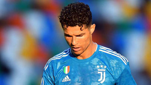 Ronaldo bất lực trong ngày Juventus nhận thất bại
