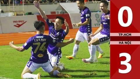 TP.HCM 0-3 Hà Nội FC (Vòng 11 V.League 2020)
