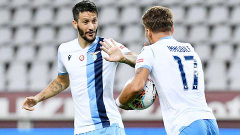 Lazio: Immobile và Alberto, cặp đôi hoàn hảo