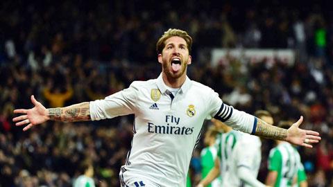 Sergio Ramos có thể đá cho Real Madrid đến lúc nào anh muốn dừng thì thôi