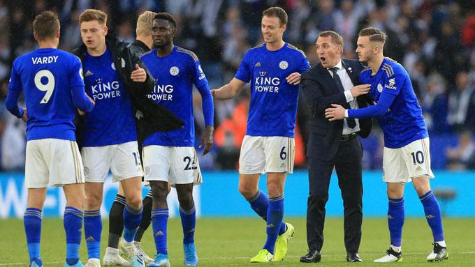 Leicester đang đứng trước cơ hội lần thứ 2 dự Champions League